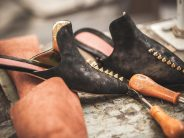 Photo reportage in a luxury shoe factory